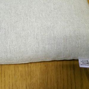 Подушка льняная с гречневой шелухой